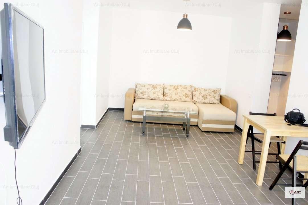 2 Camere, Bloc Nou, Mobilat Modern, Cu Parcare, In Marasti, Zona Iulius Mall