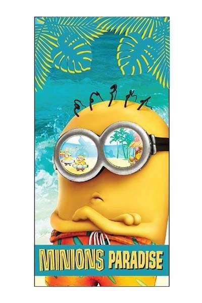 Prosop De Plaja Minions Paradise 70×140 Cm