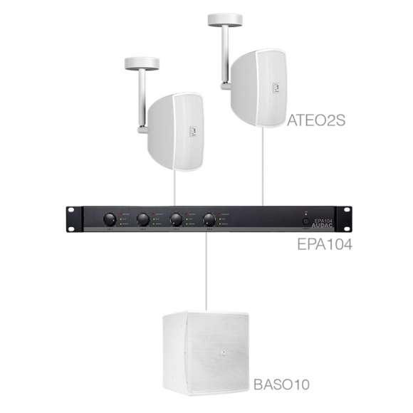 Sistem Audio Profesional Audac SUBLI2.3EC
