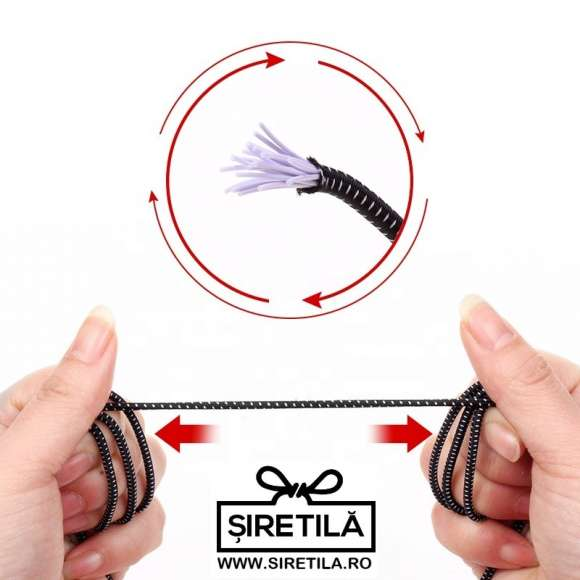Sireturi Elastice Sistem NO TOUCH Siretila.ro