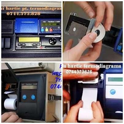 Ribon Tus Si Hartie Pentru Termoimprimanta Auto Transcan, Thermo King Si Carrier, Euroscan, Touch Print, Esco, Etc.