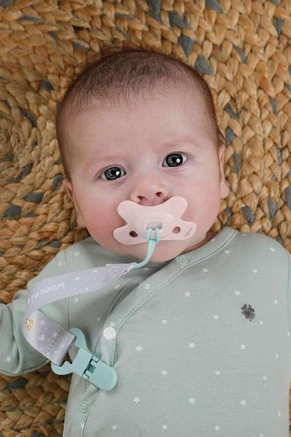 Suzeta Blossom Pure Pentru Bebelusi 0-6 Luni