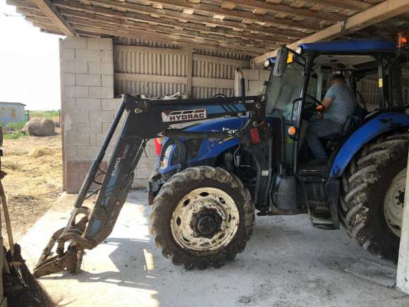 Lichidator Judiciar Vand Tractor New Holland TD5.105 T3 - Pomi, Satu Mare