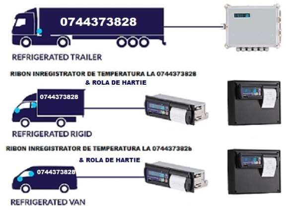 Casete Benzi Tusate Si Role Hartie ThermoKing, Transcan, Datacold Carrier, Termograf, Touchprint, Esco, Tkdl, Etc.