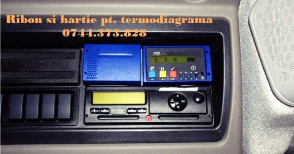 Ribon Si Rola Hartie Termodiagrama FrigoTrans, Data Cold 2s,6s, ThermoKing IR, Carrier DataCold 250,500, DataCold T,R,Transcan Sentinel, EuroScan,TouchPrint…