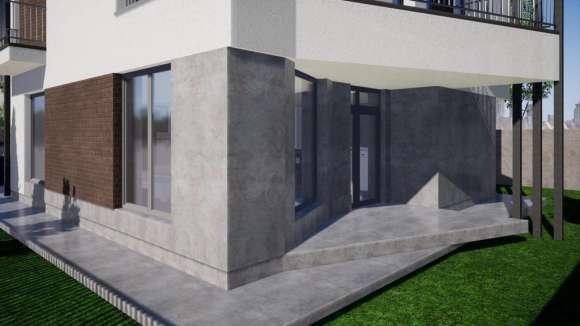 Vila Moderna Cu 4 Camere ,curte Proprie,finisaje Moderne
