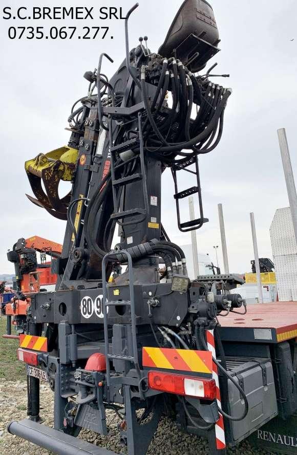 AUTOCAMION FORESTIER 6x4 RENAULT KERAX MACARA JONSERED 114 Z+leasing De La 10%