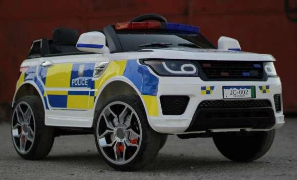 Masinuta Electrica De Politie Pentru Copii JC002
