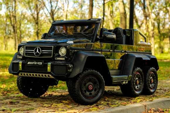 Masinuta Electrica Mercedes G63 6x6 270W