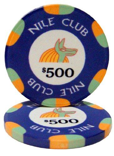 Casino Club Ceramic Poker Chips