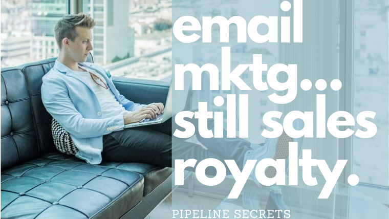 email marketing is still the king of ROI when it comes to marketing spend