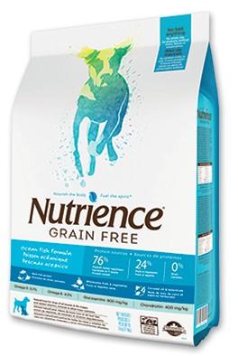 Nutrience Grain Free Ocean Fish Perro