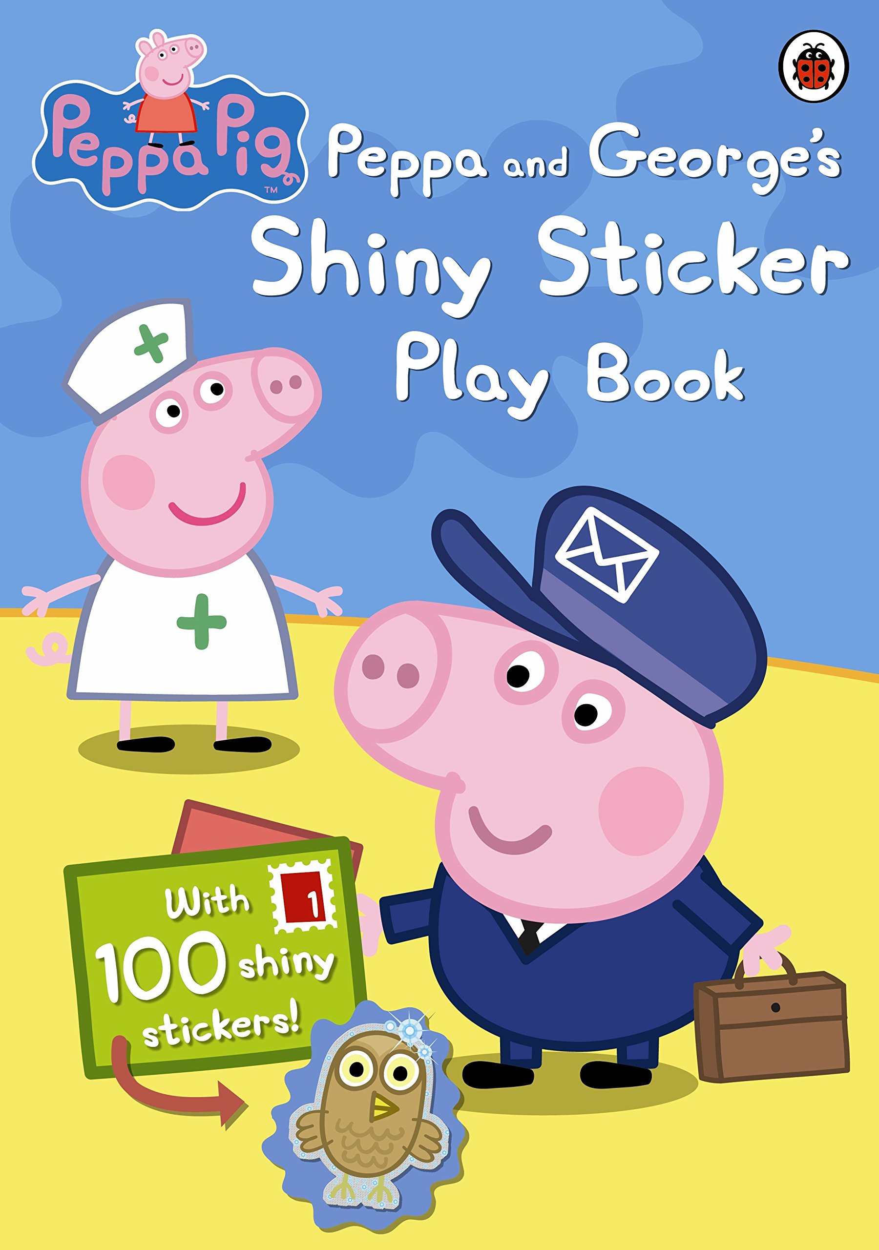 PEPPA AND GEORGES SHINY STICKER PLAY BOOK