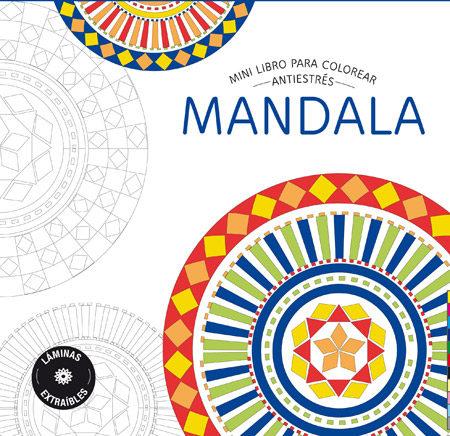 MINI LIBRO PARA COLOREAR: MANDALA