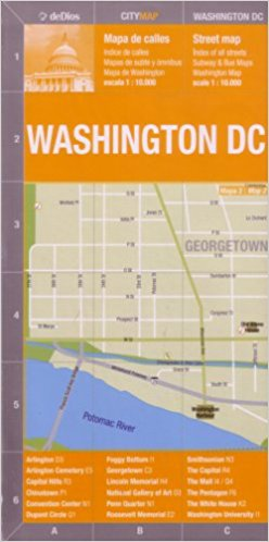 WASHINGTON DC (CITY MAP)