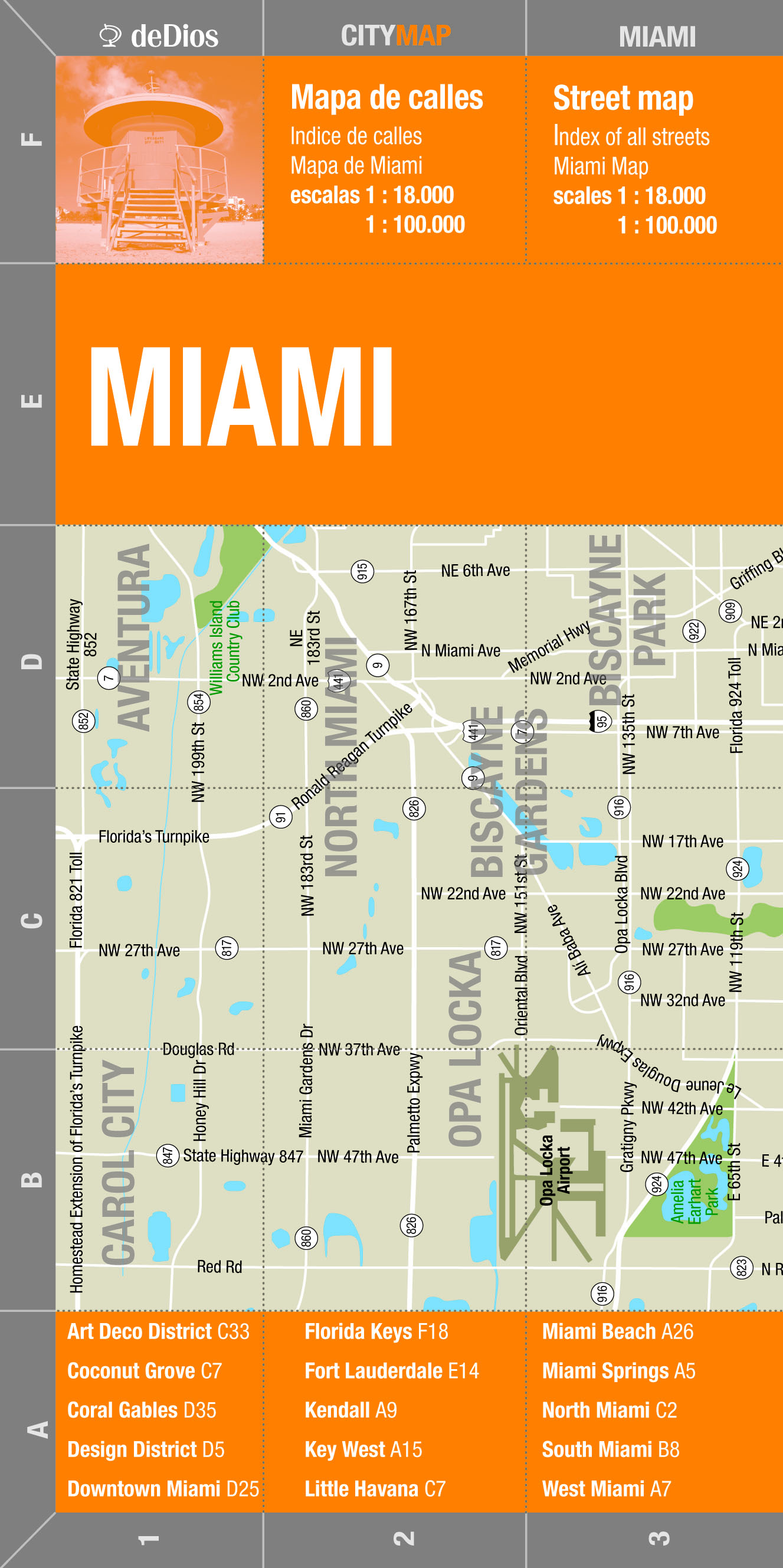 MIAMI (CITY MAP)