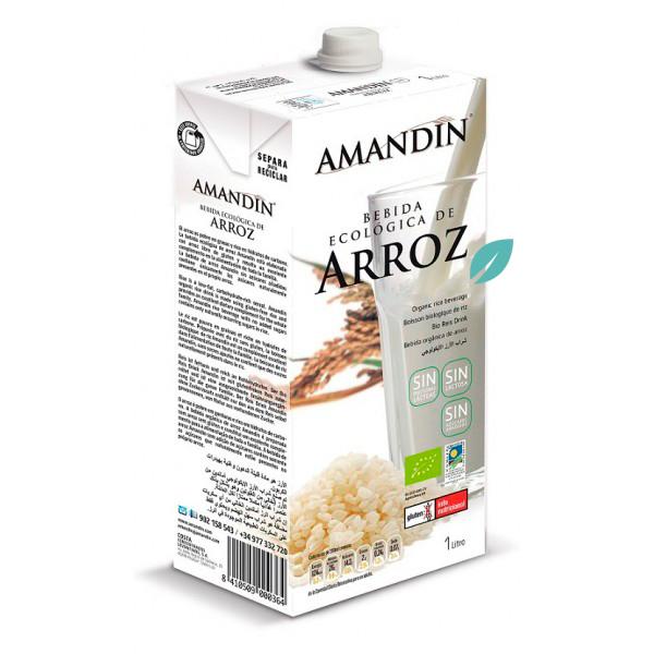 Bebida organica arroz (leche vegetal) 1 litro