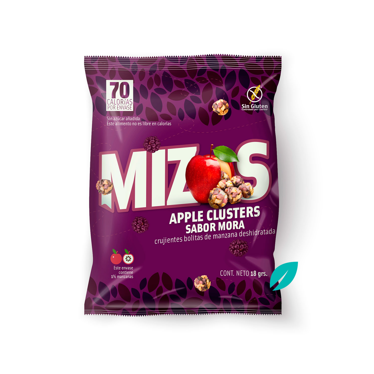 Mizos Apple Clusters Mora 18 grs