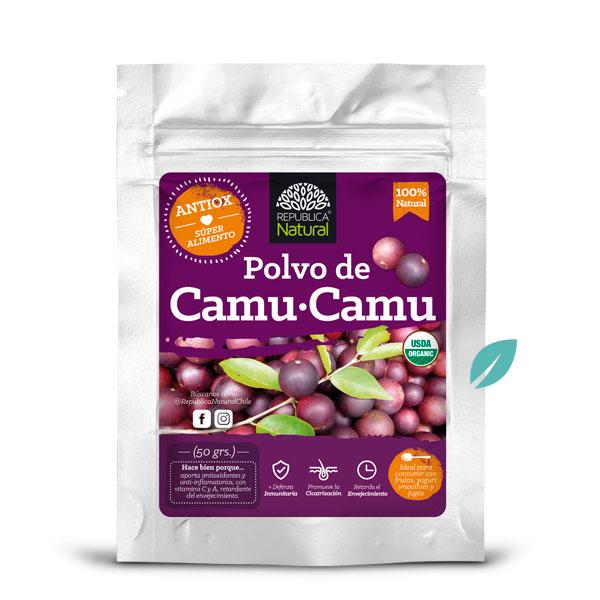 Polvo Organico Camu Camu 50 grs