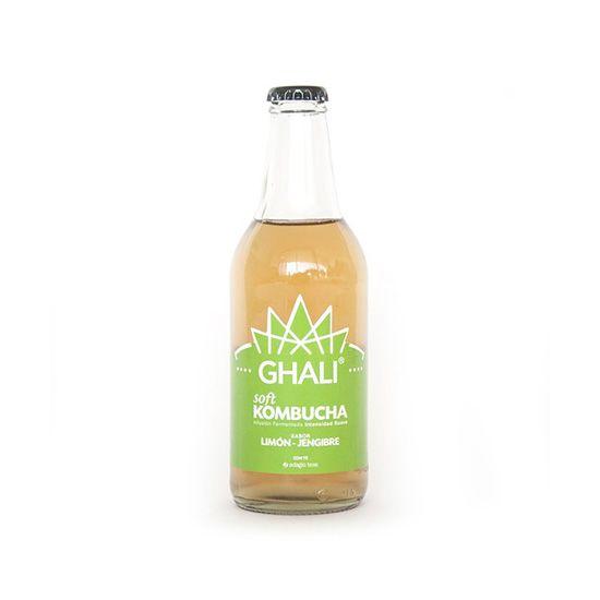 Ghali Kombucha Limón Jengibre
