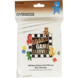 Board Game Sleeves Oversize - 79 x 120mm.
