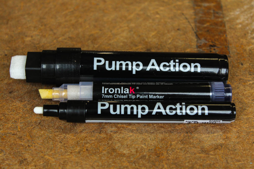 Product Review: Ironlak Action Pump markers