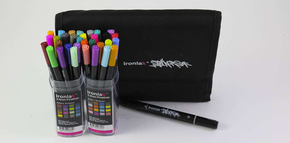 Product Review: Ironlak Strikers + Fineliners
