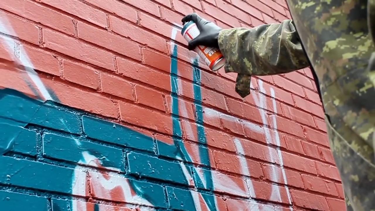 Graffiti video: Earth Crusher