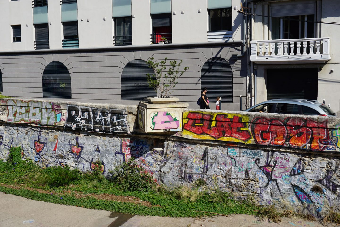 Montpellier: The VERDANSON is flowing with graff
