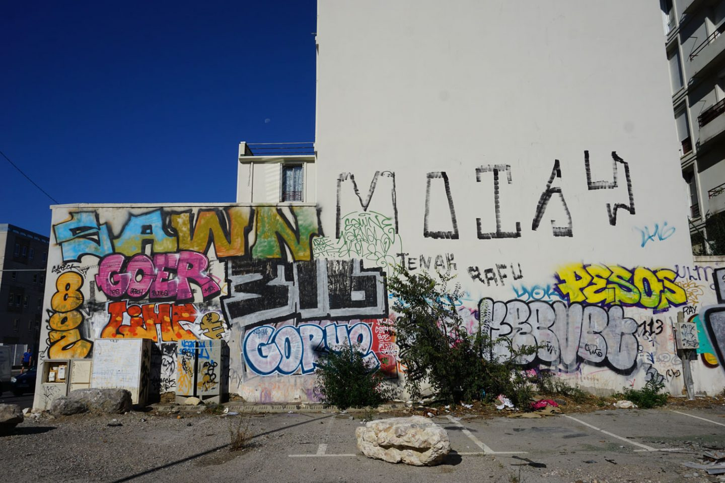 Montpellier: All walls all paint
