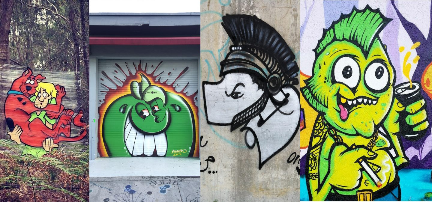 Characters in the Graff Game #2