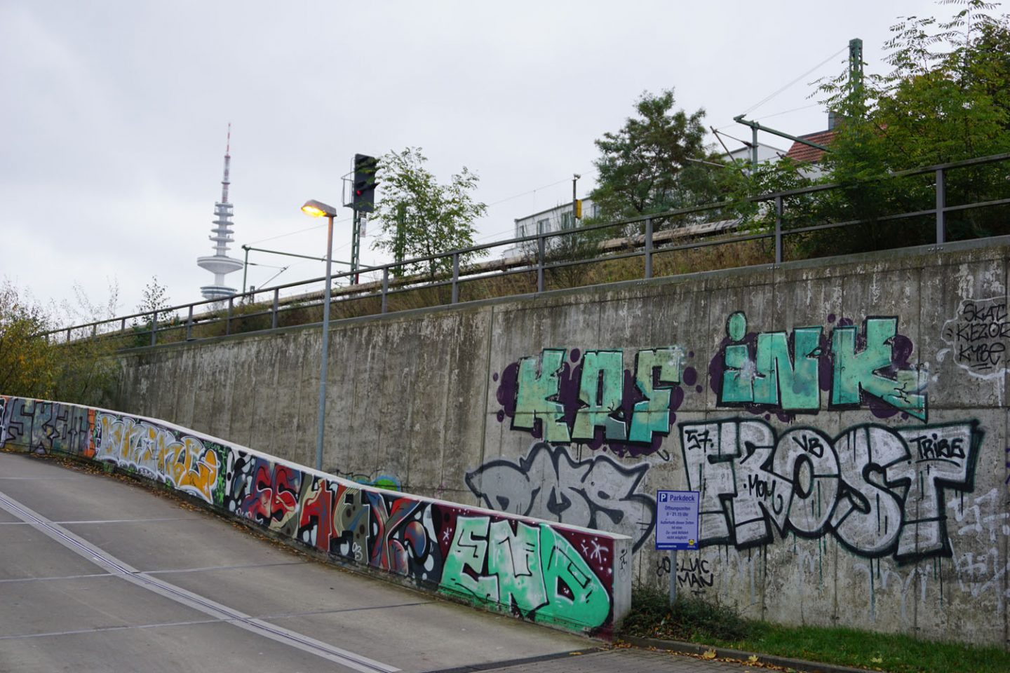 Hambourg: Bombs and Tags