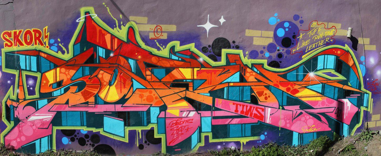 Graffiti Video Soten Bombing Science