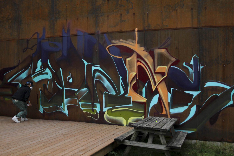 Graffiti Video: MONK-E
