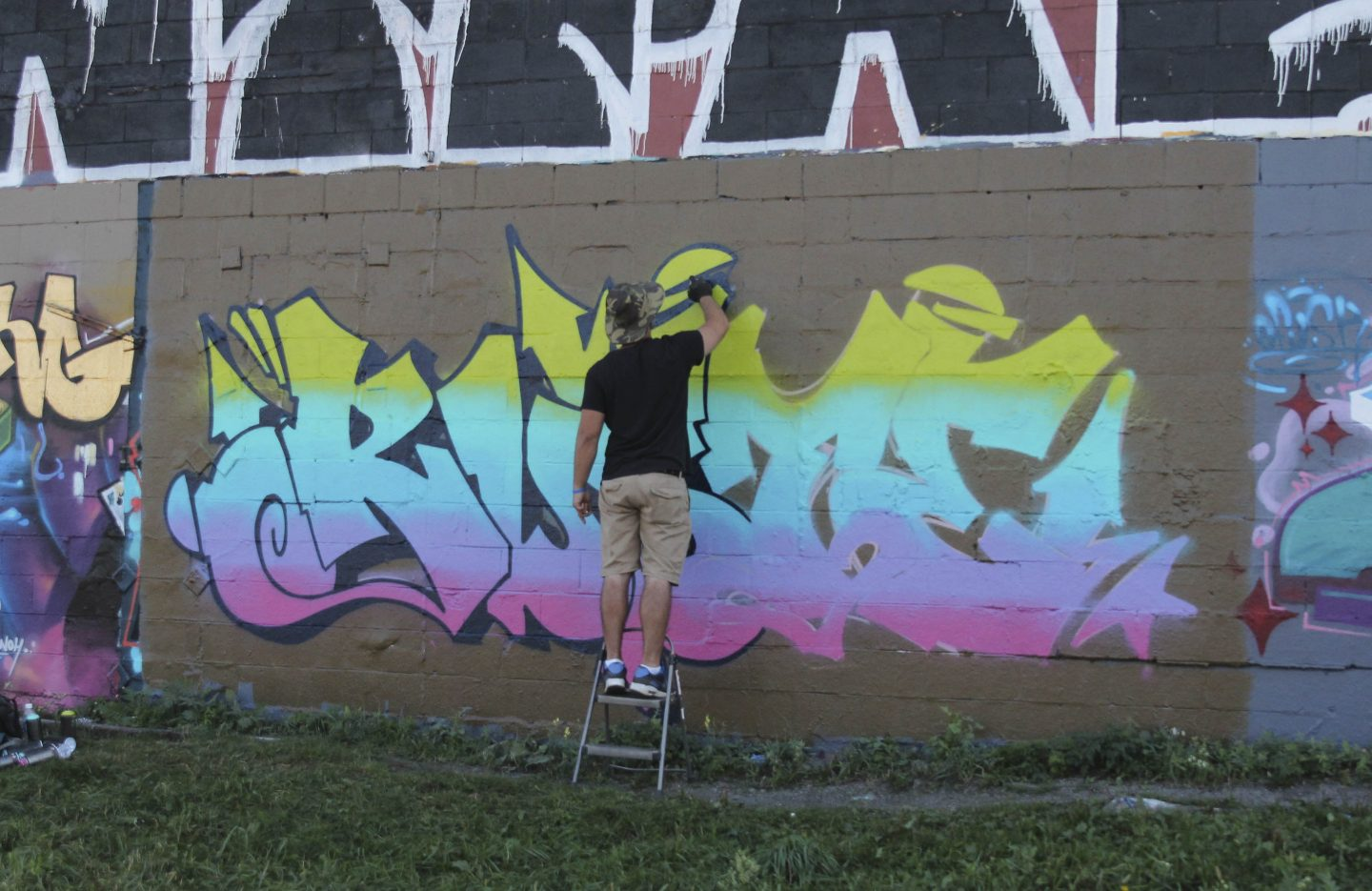 Graffiti Video: RUSTE