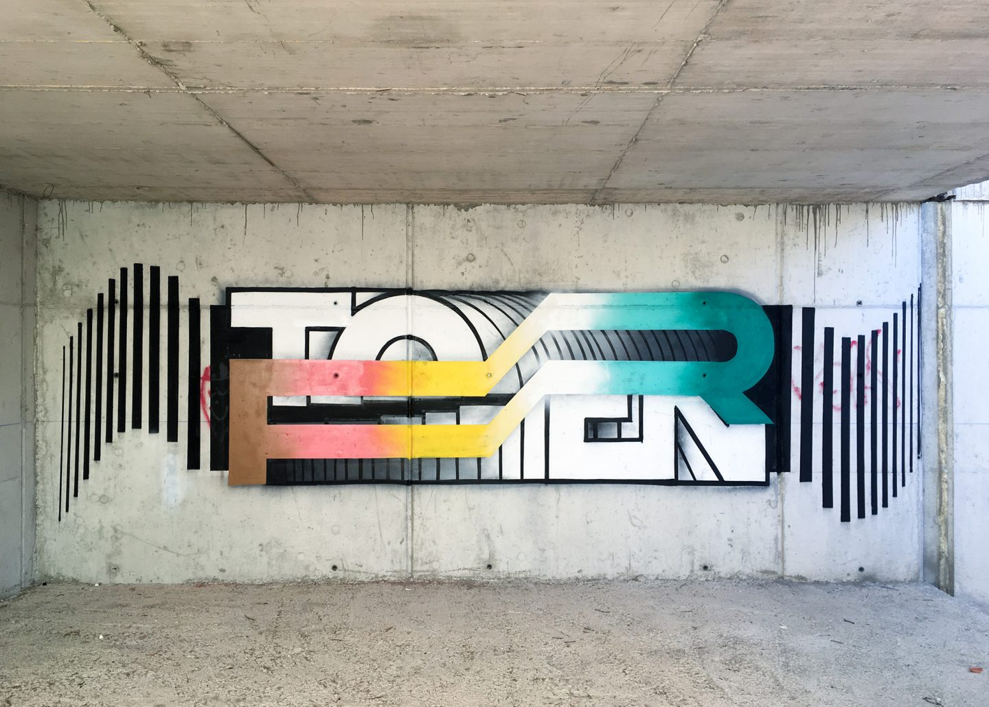 Interview: TOREN; Spain's Graffiti Brutalist
