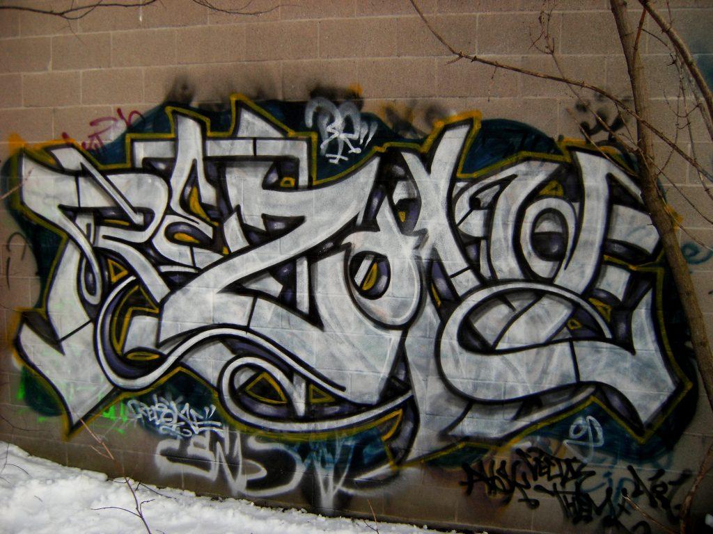 Rezone graffiti writer interview bombing science