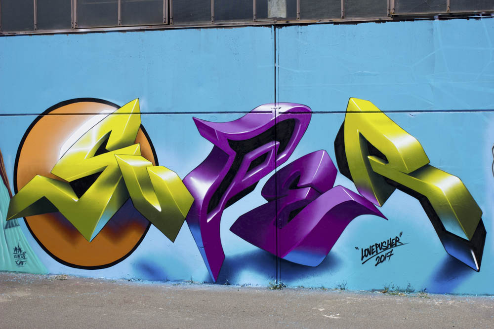 Lovepusher London Graffiti Writer Spotlight Bombing Science