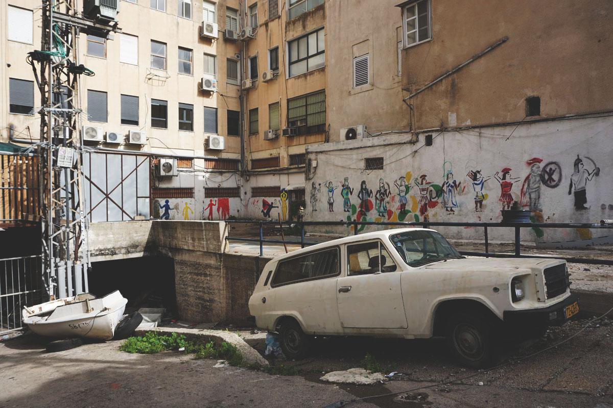 Graffiti Report: Haifa / Jerusalem