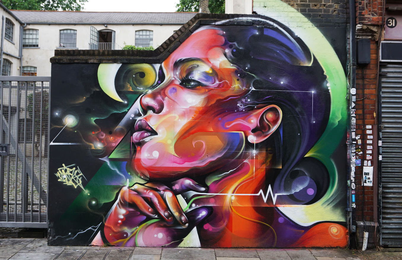 Graffiti Report: London
