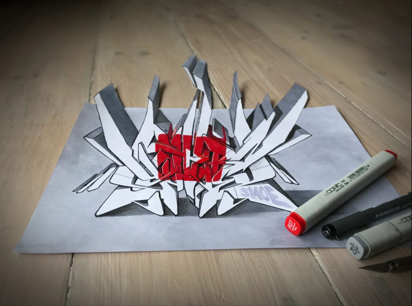 20 Awesome Graffiti Sketches: the Art of Graffiti Sketching