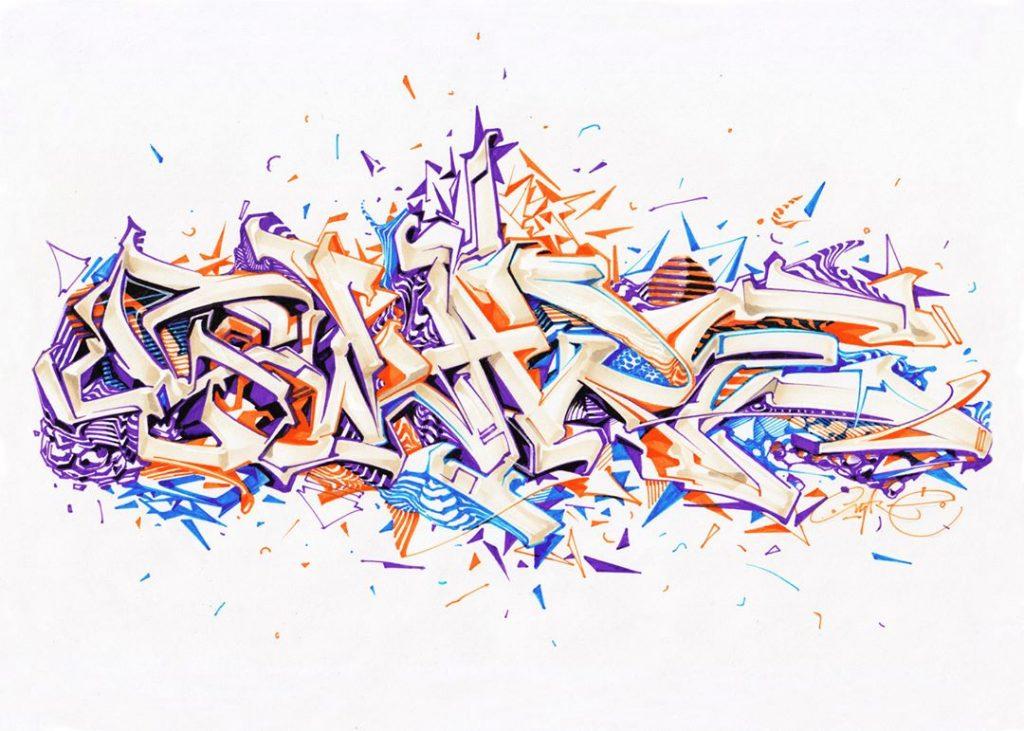 25 Graffiti Drawings To Inspire You