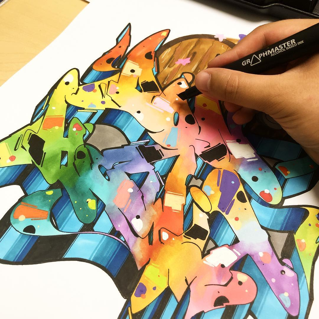 25 graffiti drawings to inspire you