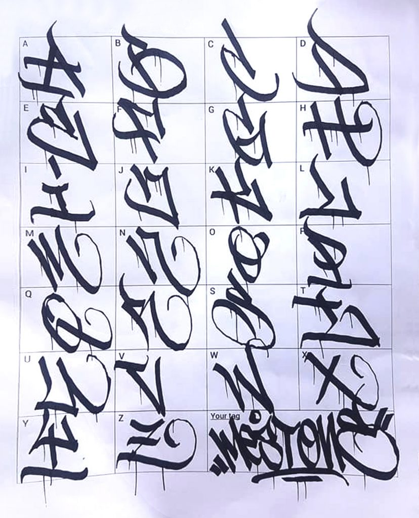 Graffiti Letters: 61 graffiti artists share their styles