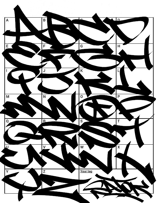 Graffiti Letters 61 Graffiti Artists Share Their Styles