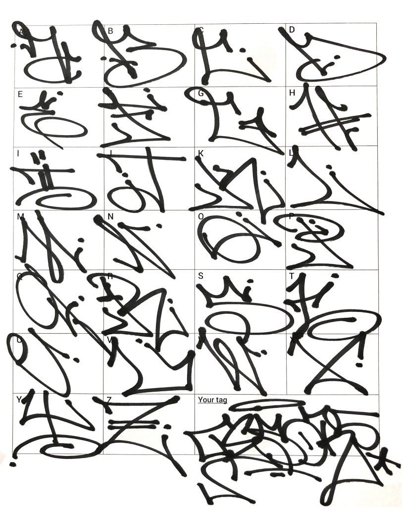 Graffiti Letters: 61 graffiti artists share their styles ...