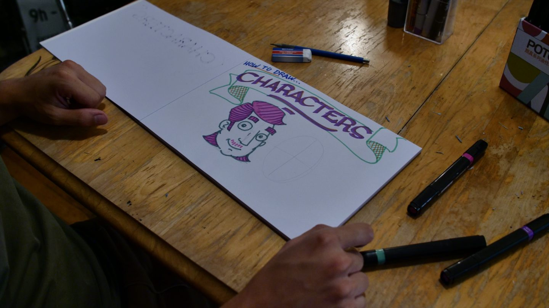 Graffiti Tutorial video: Graff Characters