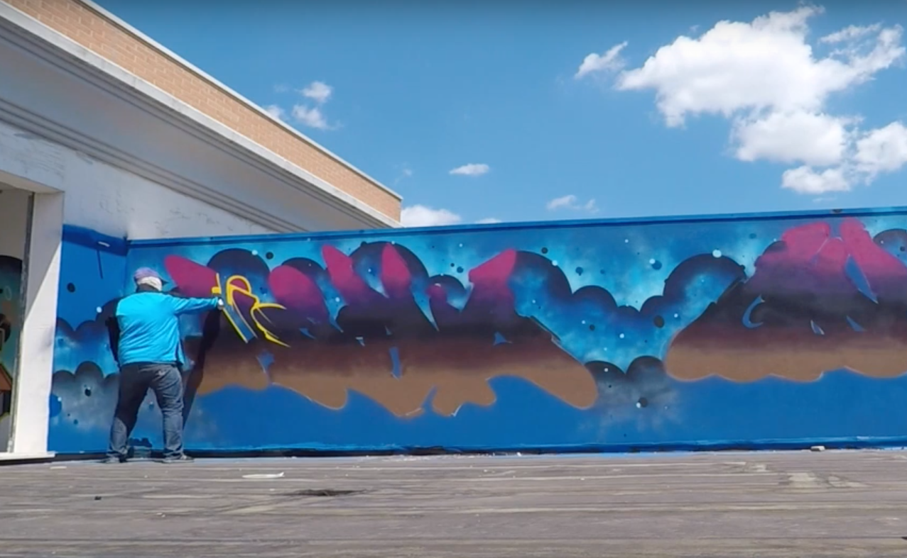 Graffiti Video: Heavy Goods X WEAM