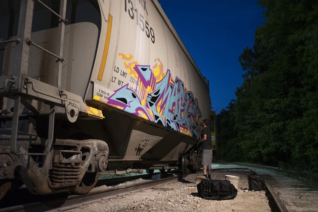 Graffiti Video: Yard Master – USA Road Trip (Part 2)