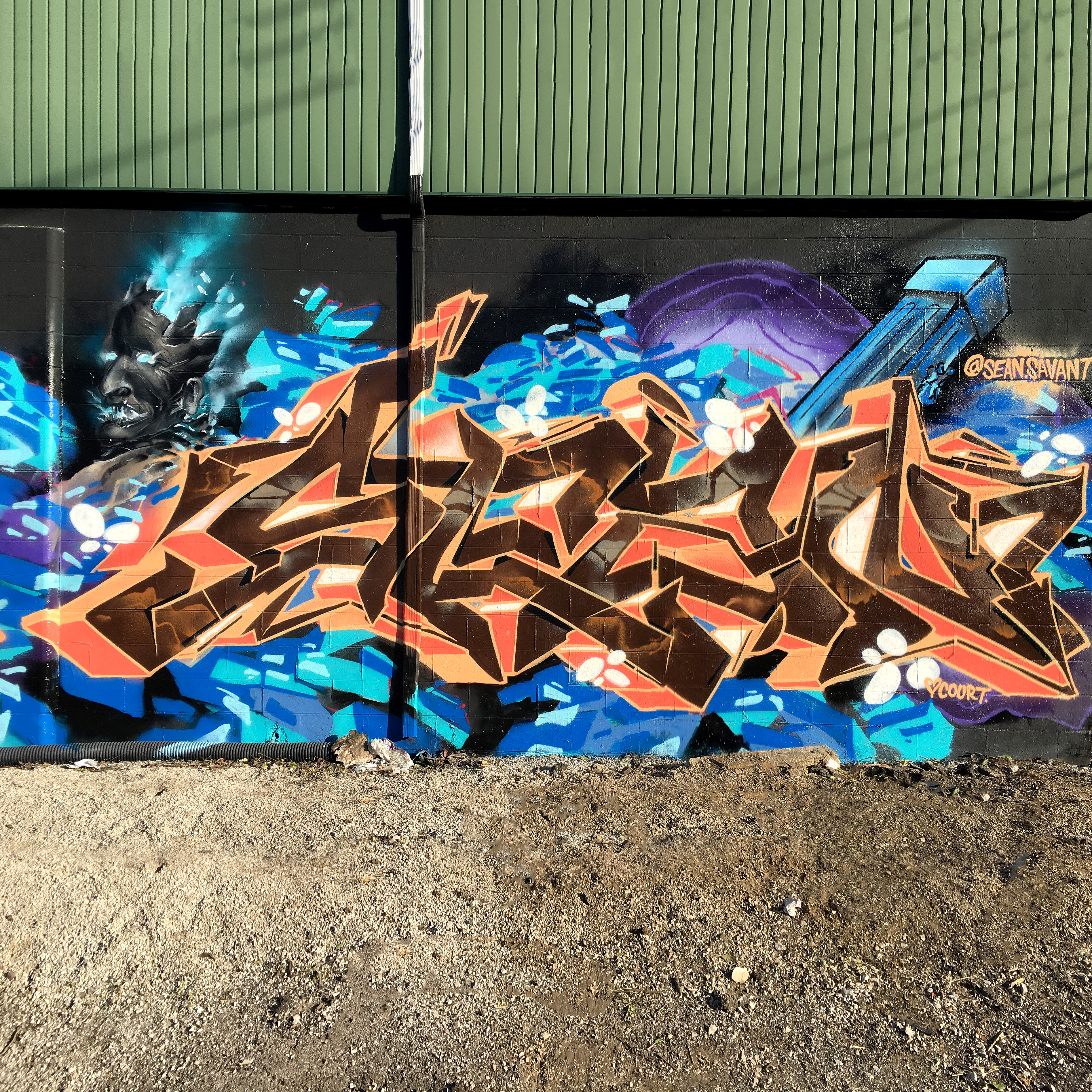 Sean Savant Indianapolis Graffiti Writer Interview